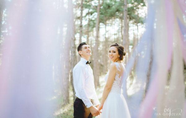 Следсватбена фотосесия Елена и Христо